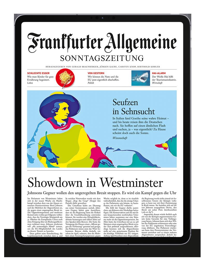 Frankfurter Allgemeine Sonntagszeitung image number null